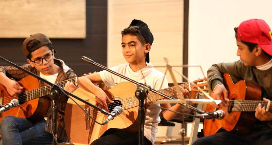 کنسرت هنر جویی آموزشگاه موسیقی طلوع